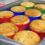 Muffin de Uvas Passas e Granola