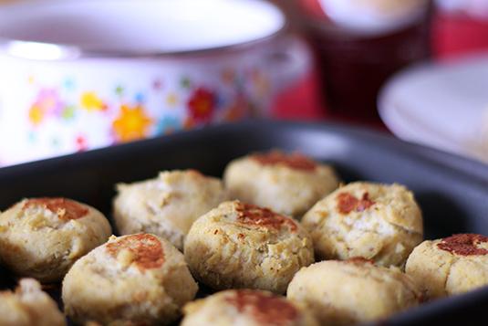 bolinho de frango com batata doce
